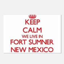 Keep calm we live in Fort Postcards (Package of 8)