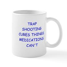 trap shooting Small Mug