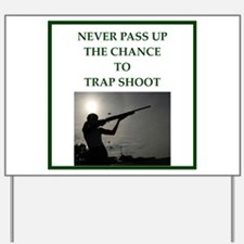 trapshooting Yard Sign