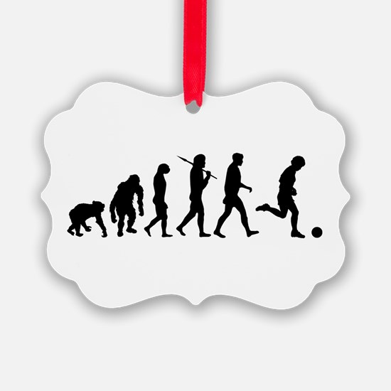 Evolution of Soccer Ornament
