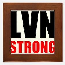 LVN Strong Framed Tile