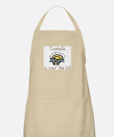 Isabelle is over the hill BBQ Apron