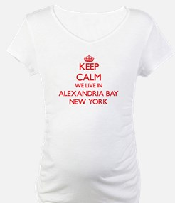 Keep calm we live in Alexandria Shirt