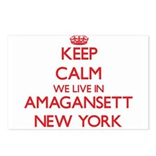 Keep calm we live in Amag Postcards (Package of 8)