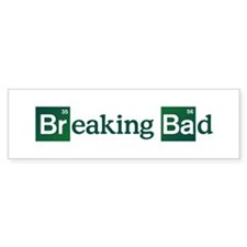 Breaking Bad Logo Bumper Stickers