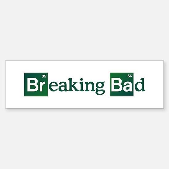 Breaking Bad Logo Sticker (Bumper)