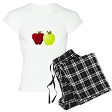 Apples Red and Green Pajamas