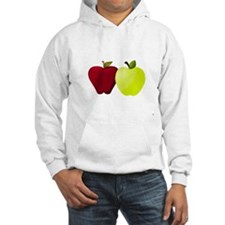 Apples Red and Green Hoodie