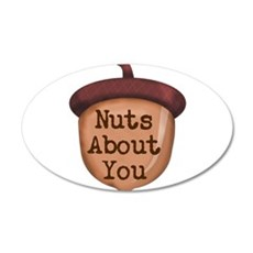 Nuts About You Acorn Wall Decal