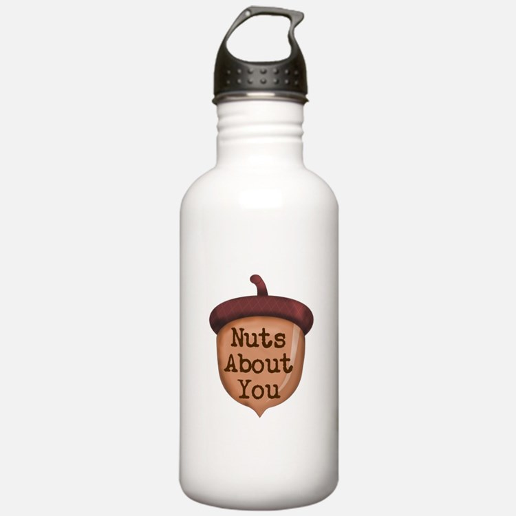 Nuts About You Acorn Water Bottle