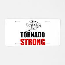 Tornado Strong Aluminum License Plate