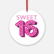 Sweet 16 Ornament (Round)