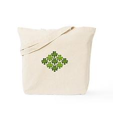 Shamrock Clover Green Tote Bag