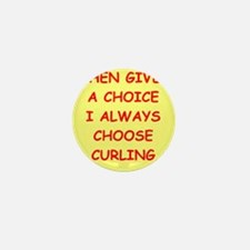 curler Mini Button