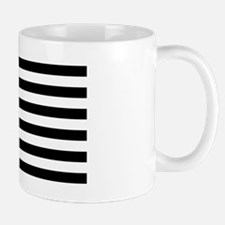 Black and White USA Flag Small Small Mug