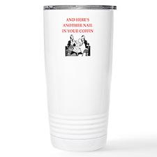 card player Travel Mug