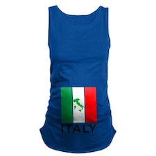 italy flag 01 Maternity Tank Top