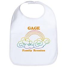 GAGE reunion (rainbow) Bib
