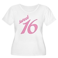 Sweet 16 Plus Size T-Shirt