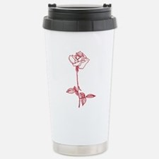Long Stem Rose Travel Mug