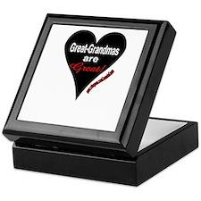 GR GRANDMAS R GREAT Keepsake Box