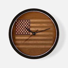 Wooden Glory Wall Clock