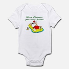 Christmas in Florida Infant Bodysuit