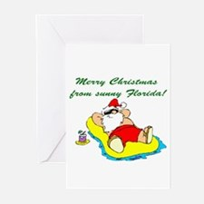 Christmas in Florida Greeting Cards (Pk of 10)