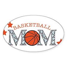 Basketbll Mom Bumper Stickers