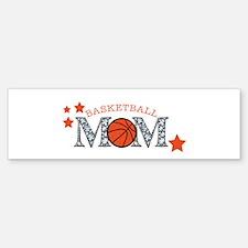 Basketbll Mom Bumper Bumper Bumper Sticker