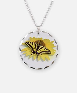 Tiger Swallowtail Butterfly Necklace
