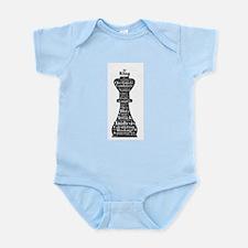 Chess Word Art Body Suit