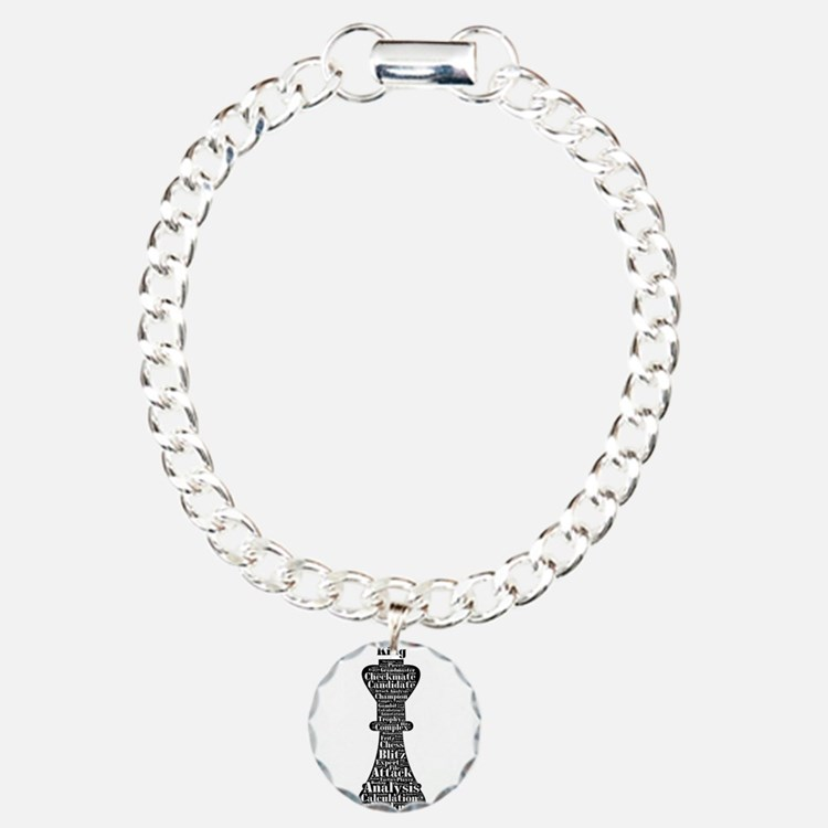 Chess Word Art Bracelet