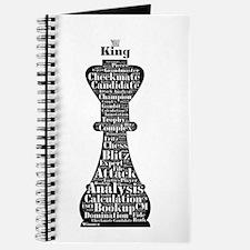 Chess Word Art Journal