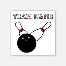 Split Pick Up Bowling Team Sticker