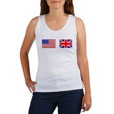 USA UK Flags for White Stuff Tank Top