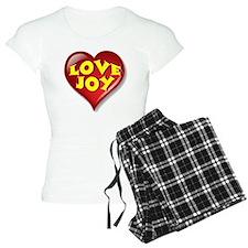 The Great Love Joy Heart Pajamas