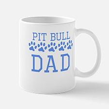 Pit Bull Dad Mugs