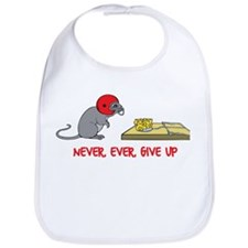 Never ever give up Bib