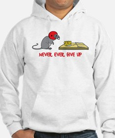 Never ever give up Sudaderas con capucha