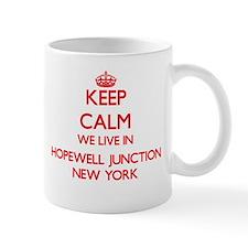 Keep calm we live in Hopewell Junction New Yo Mugs