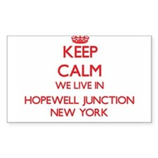 Keep calm we live in Hopewell Junction New Decal