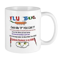 Flu Catch Me Mug