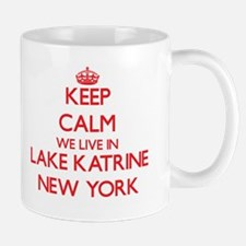 Keep calm we live in Lake Katrine New York Mugs