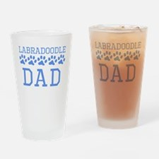 Labradoodle Dad Drinking Glass