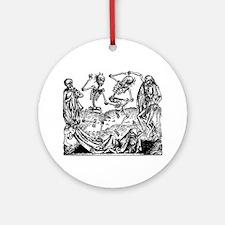 Danse Macabre Ornament (Round)