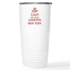 Keep calm we live in Le Travel Mug