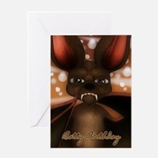 Bat Batty Birthday Card Greeting Cards