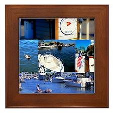 Unique Lisae Framed Tile