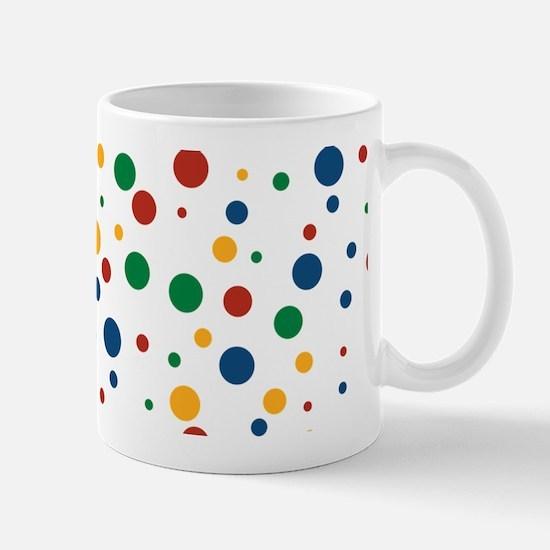 Retro Clowny Dots Mug